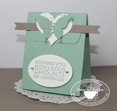 Yvonne is Stampin´ and Scrapping: Stampin´ Up! Gift bag punch Board