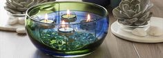 Spring Art Glass PartyLite