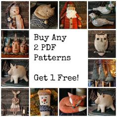Rock River Stitches: Primitive Halloween in July!