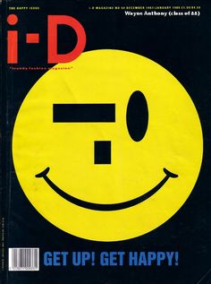 Terry Jones cover for iD magazine. Art forms on the cover pages. Acid House, Interaktives Design, Cover Design, Id Magazine, Magazine Design, Magazine Layouts, Id Cover, Cover Art, Cover Pages