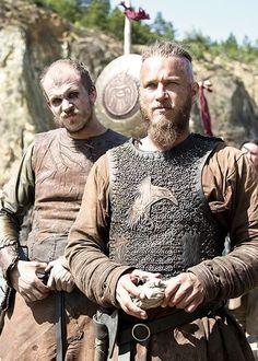 "Ragnar Lothbrok and Floki, from ""Vikings"""