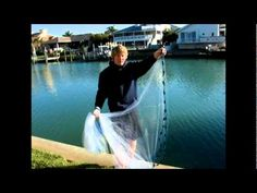 How to throw a cast net - YouTube