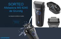 Consigue un rasurado perfecto con la afeitadora MS 6240 de Grundig