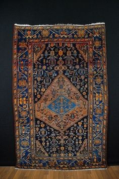 Antique tapis ca:207x130cm tappeto tapis collectorpiece!!! | eBay