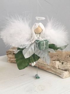 Flower Fairy Faerie Ornament Angel Ornament Christmas Tree