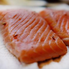 Sous vide salmon is quick to make, flakes apart beautifully, it's succulent, and retains its bold color! | Nomiku