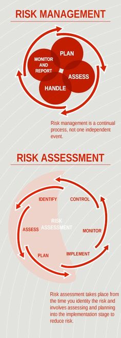 Risk Management and Risk Assessment Infographic