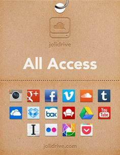 #jolidrive #startup #curation tool for favorite apps in the cloud