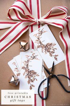 Handmade Christmas Decorations, Christmas Gift Wrapping, Christmas Crafts, Christmas Presents, Christmas Ideas, Merry Christmas, Xmas, Free Christmas Printables, Free Printables