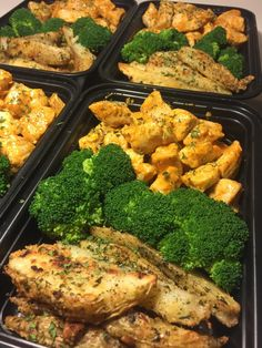 Buffalo Chicken and Garlic Parmesan Potato Wedges : MealPrepSunday