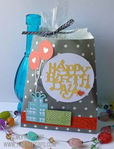 Introducing Artistry - Themes! Each page has a new theme, including this Happy Birthday Bag #ctmhzoe #ctmhartistry