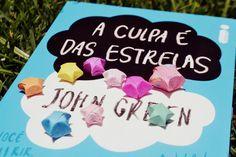 A culpa é das estrelas - John Green  #book  #livro  #capa