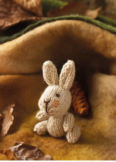 Knit this cute chubby, little bunny that would be great to give as a gift and ideal for using up oddments of yarn. The pattern is suitable for knitters of all abilities. Knitting Books, Knitting Stitches, Knitting Projects, Knitting Patterns, Knitted Animals, Yarn Bowl, Girls Socks, Knit Crochet, Bunny