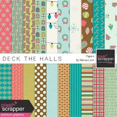 Deck the Halls Papers Kit