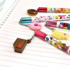 Sugary Sweet Charm Wooden Pencil