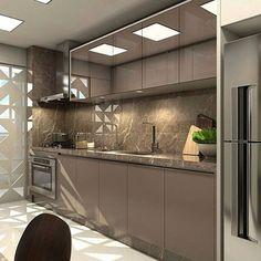 Ideas for home design modern kitchen cabinet colors Kitchen Room Design, Modern Kitchen Design, Home Decor Kitchen, Interior Design Kitchen, Home Kitchens, Modern Kitchen Cabinets, Kitchen Cabinet Colors, Kitchen Appliances Brands, Building A Kitchen
