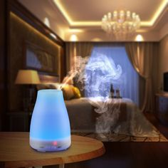 VicTsing 100ml Aromatherapy Essential Oil Diffuser Portable Ultrasonic Cool Mist Aroma Humidifier with Color LED Lights Changing and Waterless Auto Shut-off Function for Home Office Bedroom Room: Amazon.ca: Health & Personal Care