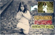 مدونة محترف فوتوشوب: أكشن فوتوشوب جديد 2016 Redro Action