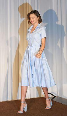 nice Miranda Kerr spielt Matchy-Matchy mit ihrem Sommerliche Pastels