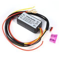 DRL Controller Auto Car LED Daytime Running Light Relay Harness Dimmer On/Off 12-18V Fog Light Controller 2016