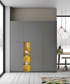 침실에 놓인 깔끔한 붙박이장 : 네이버 블로그 Wardrobe Cabinets, Bedroom Furniture, Wardrobe Furniture, Bedroom Wardrobe, Wardrobe Closet, Furniture Design, Wardrobe Design, Corner Wardrobe, Cupboard Design