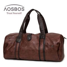 c89531beb6c7 AOSBOS Leather Duffel Bag - BagPrime - Look Your Best with Amazing Bags   bags