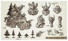Trent kaniuga aquatic moon summoners rift sketches1 copy