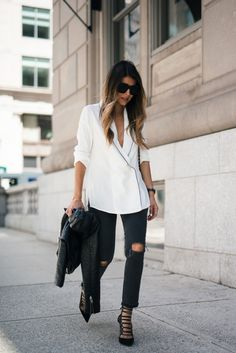 how to wear the pajama trend | The Girl From Panama