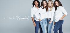 Den perfekte jeansen Skinny Jeans, Coat, Fitness, Pants, Jackets, Daughters, Fashion, Blogging, Trouser Pants