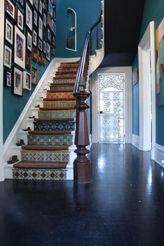Our Favorite Creative Entryways and Staircases - dream house ideas decor ideas stairways