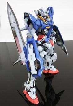 GUNDAM GUY: MG 1/100 Gundam Exia - Customized Build