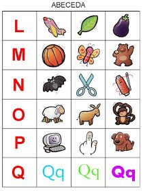 Pro Šíšu: Abeceda - prirazovani obrazku Preschool Themes, Montessori Activities, Toddler Activities, Preschool Activities, Alphabet For Kids, Alphabet Book, Kids Education, Special Education, Mickey Coloring Pages