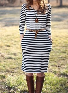 Lilly's Style: that striped dress
