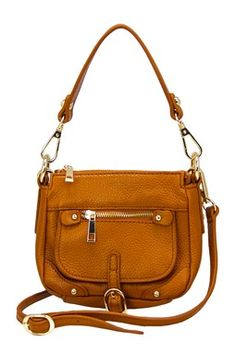 Noho Mini Leather Crossbody Bag