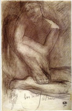 DRAWING AT DUKE: AUGUSTE RODIN (1840 - 1917)