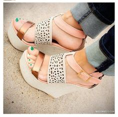 Cute shoes | summer wedges