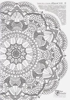 Best 12 Crochet Mandala + Diagram + Free Pattern Step By Step – SkillOfKing.Com - Her Crochet Motif Mandala Crochet, Crochet Doily Diagram, Crochet Doily Patterns, Thread Crochet, Filet Crochet, Irish Crochet, Crochet Shawl, Crochet Designs, Crochet Stitches