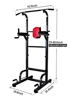 AbleFitness Dip Station Chin Up Bar Power Tower Pull Push Home Gym Fitness Core *** To view further for this item, visit the image link. (This is an affiliate link) Gold's Gym Home Gym, Best Home Gym, Chin Up Station, Dip Station, Power Tower, Power Bars, Home Gym Equipment, No Equipment Workout, Sports Equipment