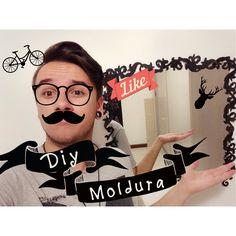 #DIY - Moldura de espelho