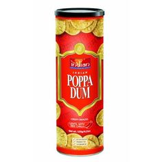 Truly Indian Red Chilli Poppadums #AmazonGrocery Tasty with a nice, mild cheese!