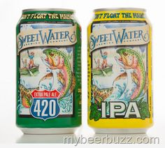 mybeerbuzz.com - Bringing Good Beers & Good People Together...: SweetWater - Cans Ship This Week, 17th Anniversary...