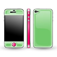 Golw in the Dark case! Apple Glow Gel Combo iPhone Cover - Neon Pink at the Foundary