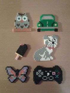 Hama beads things - loved doing these growing up