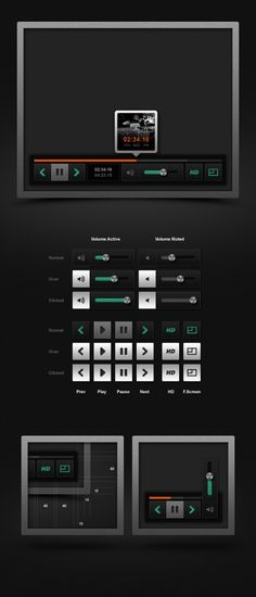 Free Web User Interface Kits