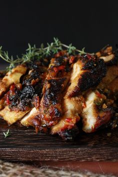 Spicy Grilled Chicken ~ Ayam Percik by cherryonacake #Chicken #Spicy Malaysian #Healthy #Light #Easy