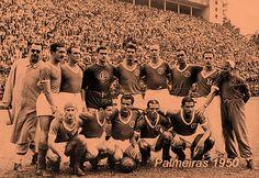 Há 65 anos, Palmeiras superou rival histórico e conquistou o Paulistão de 1950...