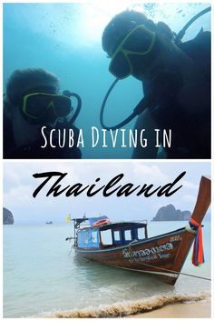 Have you never been scuba diving before? Thailand is a great place to start! It was my first time too, come find out more about it!