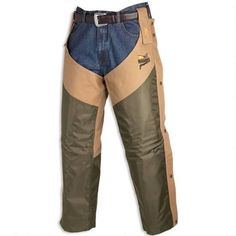 Browning Pheasants Forever Chaps Upland Field Camo/Tan Regular 3001163203 - 023614038825