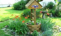 Okrasná studna - ozdoba každé zahrady