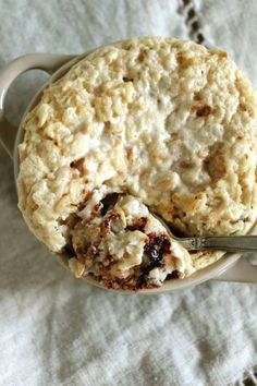 chocolate chip pancake baked oatmeal